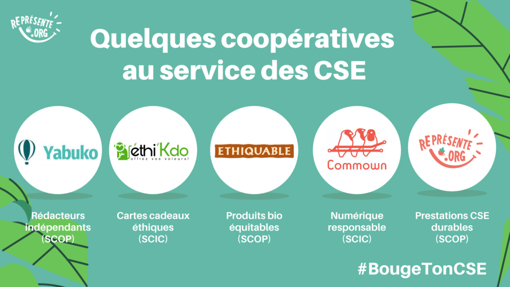 Quelques coopératives au service des CSE